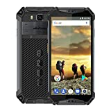 Ulefone Armor 3-5.7 inch FHD Corning Gorilla Glass Outdoor 4G Smartphone,10300mAh Battery, 4GB+64GB, IP68/IP69K Waterproof/Shockproof/Dustproof Android 8.1, Dual Speaker/NFC/Face Unlock(Black)