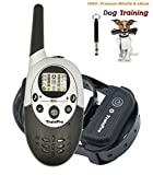 TrainPro Rechargeable Waterproof Electronic Dog Training Shock Collar with Training eBook - 1100 Yard Range