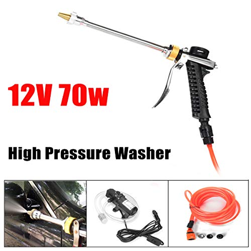 ('12V 70W High Pressure Car Electric Washer Water Self-priming Pump Washing Tools')