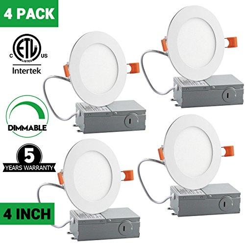 4 Led Recessed Light Fixture