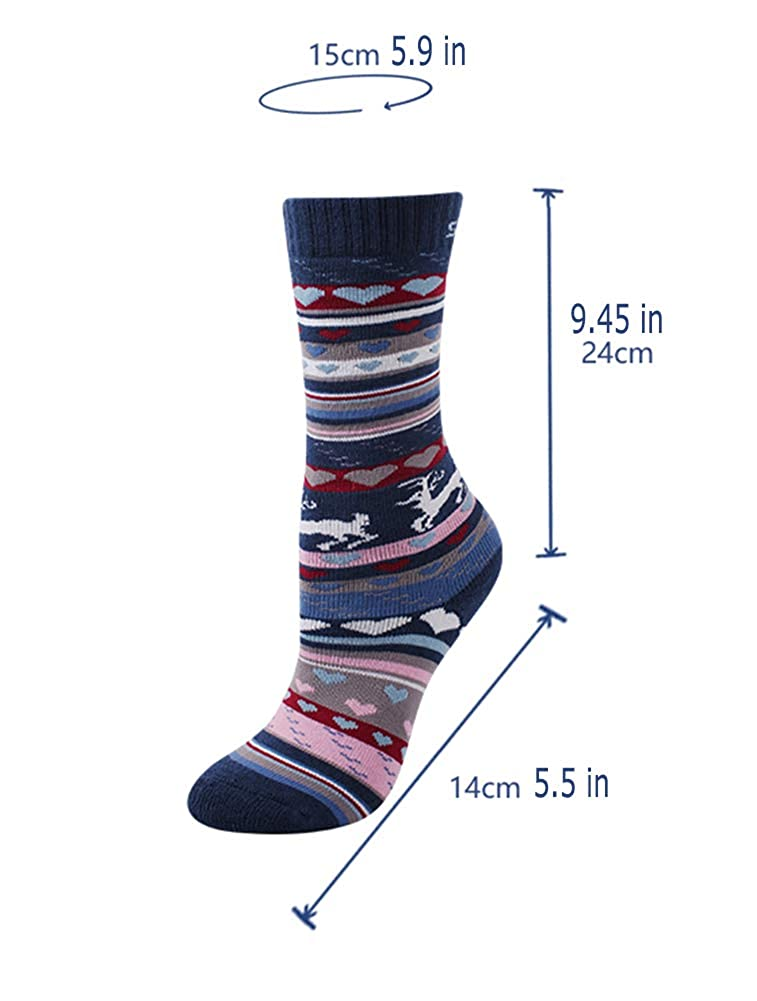 Snowboarding Boy AGOWOO Ski Socks for Kid Girl Hiking Cold Weather