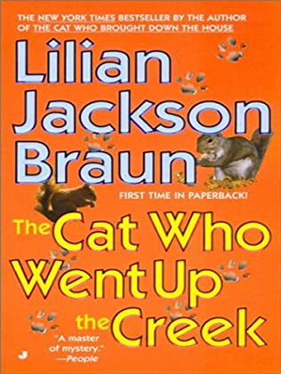 book cover of The Cat Who Went Up The Creek