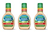 Hidden Valley the Original Ranch Salad Dressing in Sriracha Flavor 16 Fl Oz (3 Pack)
