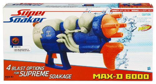 SUPERSOAKER Max D 6000 Water Blaster by SUPERSOAKER (Image #1)