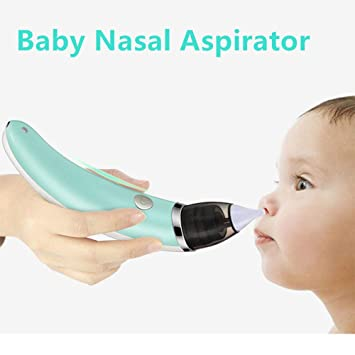 Safe Hygienic And Quick Battery Operated 100% Original Baby Other Baby Safety & Health Occobaby Baby Nasal Aspirator
