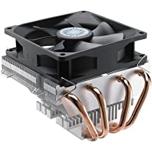 Cooler Master Vortex Plus - CPU Cooler with Aluminum Fins and 4 Direct Contact Heat Pipes