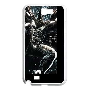 Angry Batman Samsung Galaxy N2 7100 Cell Phone Case White DIY GIFT pp001_8935545