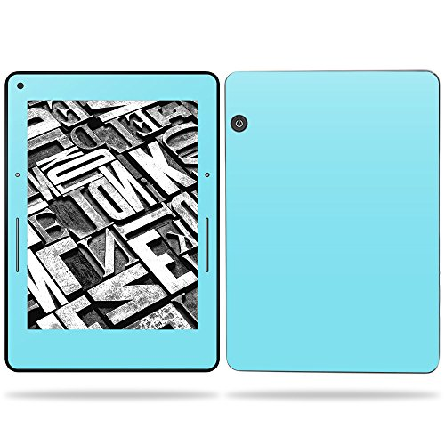 "MightySkins Skin For Amazon Kindle Voyage 6"" (2017) - Solid Baby Blue 
