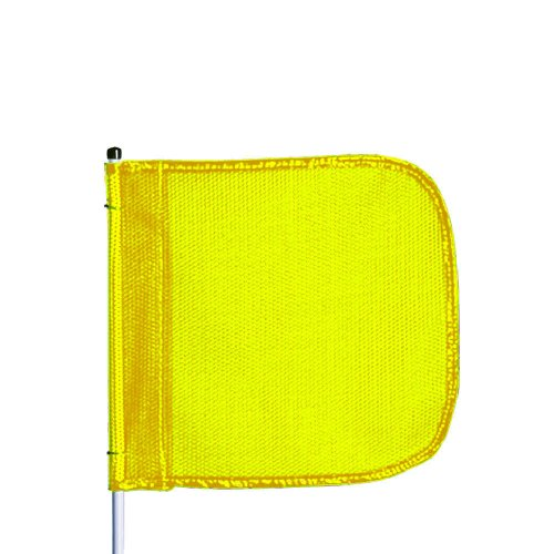 (Flagstaff FS8 Safety Flag, Threaded Hex Base, 12