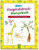 Mein Fingerabdruck-Stempelbuch: Für Kindergartenkinder