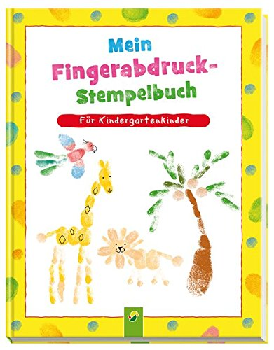 Mein Fingerabdruck Stempelbuch Für Kindergartenkinder Amazon De Elisabeth Holzapfel Bücher