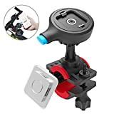 zenfone 6 quad - TONGYE Bike Phone Mount Bicycle Holder Cycling Accessories with One-Second Lock, One-Button Release, for iPhone X / 8 / 7 / 7 Plus / 6s / 6s Plus, Samsung Galaxy S8 / S8 Plus / S7 / S7 Edge, Etc.