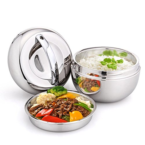 Awayyang Stainless Steel Lunch Container 2-Layer 1000 ML Tiffin Bento - Blog Bieber Justin