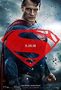BATMAN V SUPERMAN DAWN OF JUSTICE Original Movie Poster 27x40 - DS - VERSION C - SUPERMAN - HENRY CAVILL