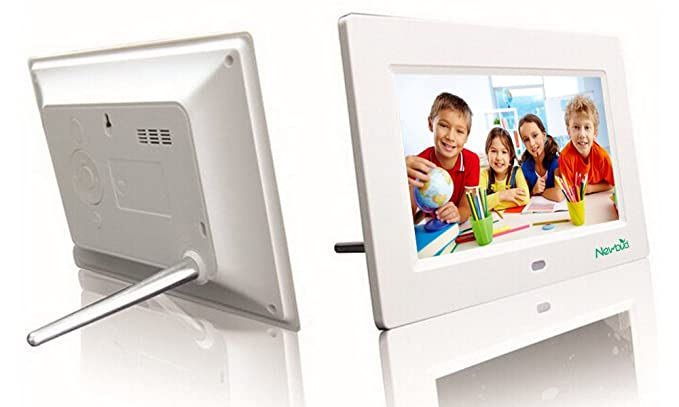 Amazon.com : 7-Inch 800x480 High Resolution Digital Photo Frame With ...