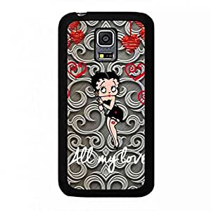 Betty Boop Phone Skin,Samsung Galaxy S5Mini Phone Cover,Hard Phone Cover,Cartoon Samsung Galaxy S5Mini Phone Cover