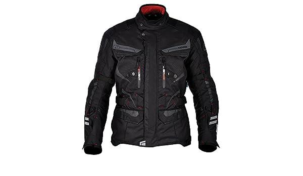 Amazon.com: Oxford Torino Mens Waterproof Touring Textile Motorcycle Jacket Tech Black4XL50: Automotive