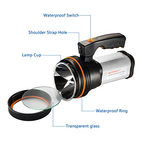 Handheld spotlight for hunting