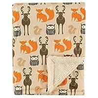 Hudson Baby Unisex Baby Plush/Sherpa Blanket
