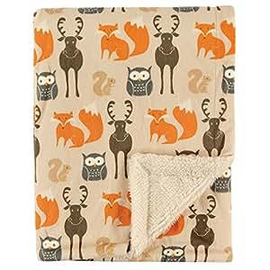 Amazon.com: Manta de doble capa para bebé de Hudson ...