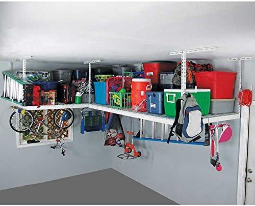SafeRacks 4x8-2 Rack Package w/Accessory Hooks