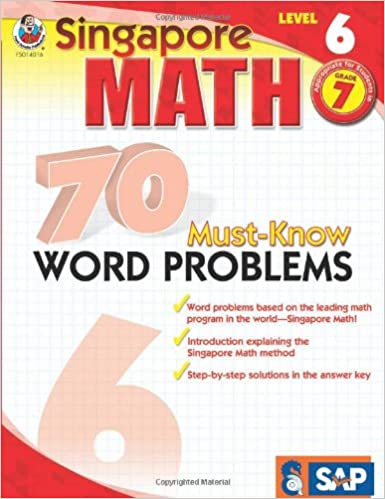 70 must know word problems grade 7 singapore math frank 70 must know word problems grade 7 singapore math frank schaffer publications 0017257140168 amazon books fandeluxe Gallery
