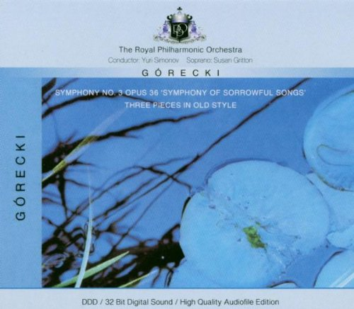 Gorecki: Symphony No. 3 Op. 36; Three Pieces In Old Style [Germany]