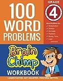 100 Word Problems : Grade 4 Math Workbook