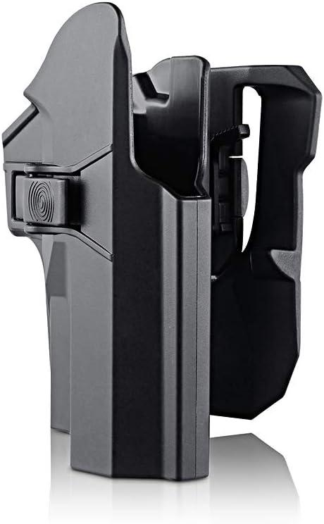 efluky Holster Pistola Molle Pistolera Airsoft Gun Holster para Sig Sauer P226 P227 P228 P229, Paddle 360°Adjustable