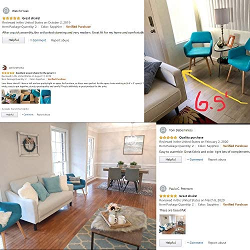 home, kitchen, furniture, kitchen, dining room furniture,  chairs 8 image Lansen Furniture (Set of 2) Modern Living Dining deals