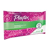 Playtex Personal Cleansing Cloths Refill Pack, Fresh Scent, 48-Count Package (Pack of 3)