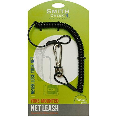 Smith Creek Net Leash, Yoke Mounted Coiled Lanyard