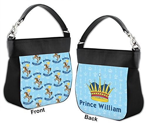 Genuine Trim Back w Personalized Purse Front amp; Prince Hobo Leather Custom 7waSpqx