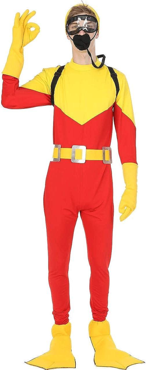 ORION COSTUMES Disfraz de Buzo Steve Un Papá Genial para Hombres ...
