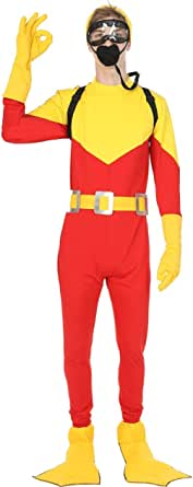 Orion Costumes Mens Scuba Steve Diving Dive w/Backpack Movie Fancy Dress Costume