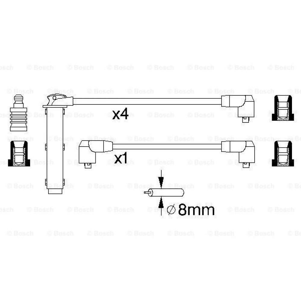 Bosch 986356802 cable de arranque de alta tensin