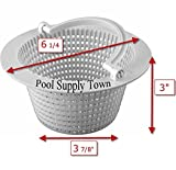 pool skimmer basket - PoolSupplyTown Above-ground Pool Thru-wall Skimmer Basket For Pentair HydroSkim Skimmer 513330