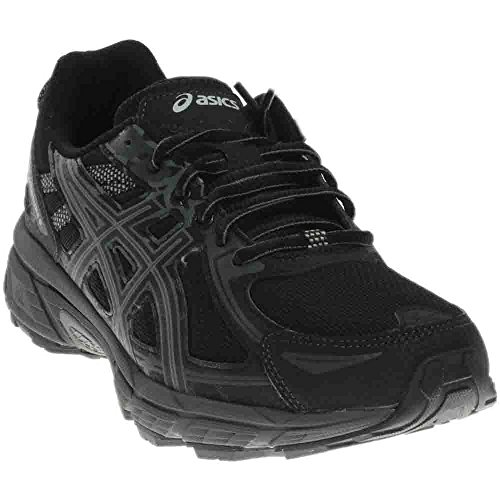 ASICS Men's Gel-Venture 6 Running-Shoes, Black/Phantom/Mid Grey, 7 Medium US