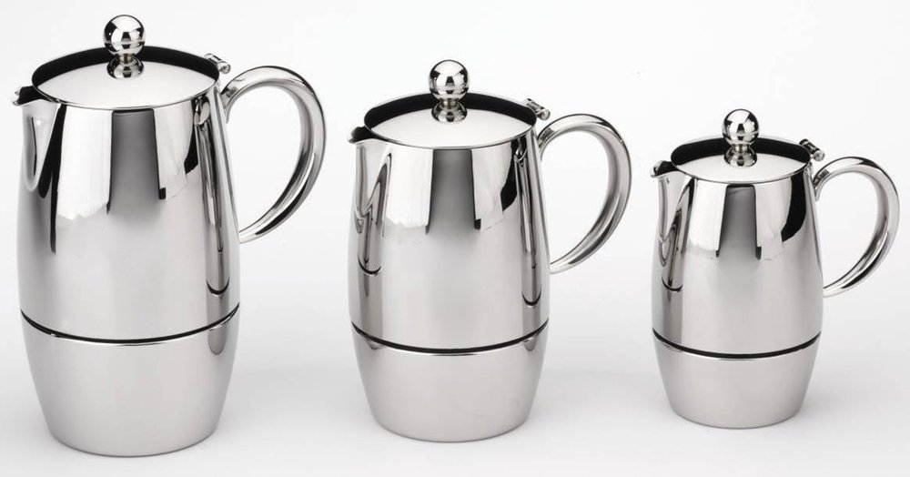 Cuisinox Firenza 6 Cup Espresso Coffeemaker, Silver by Cuisinox
