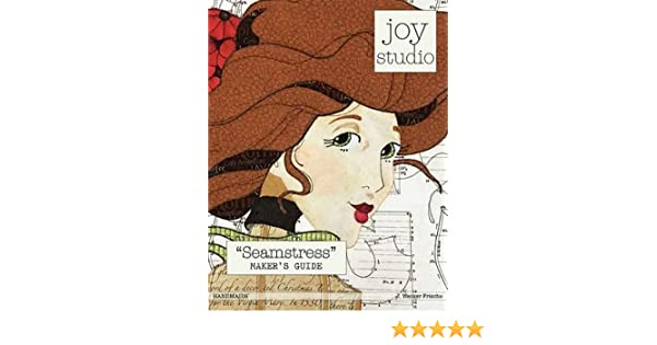Amazon.com: seamstress makers guide raw edge applique pattern by