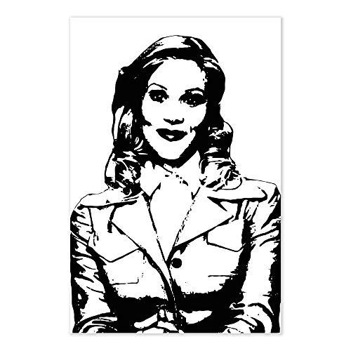 Veronica Corningstone Anchorman Movie Art Print ()