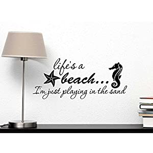 51XynMRsgmL._SS300_ Beach Wall Decals and Coastal Wall Decals
