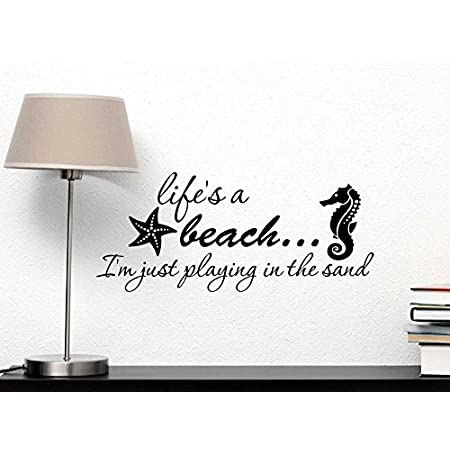 51XynMRsgmL._SS450_ Beach Wall Decals and Coastal Wall Decals