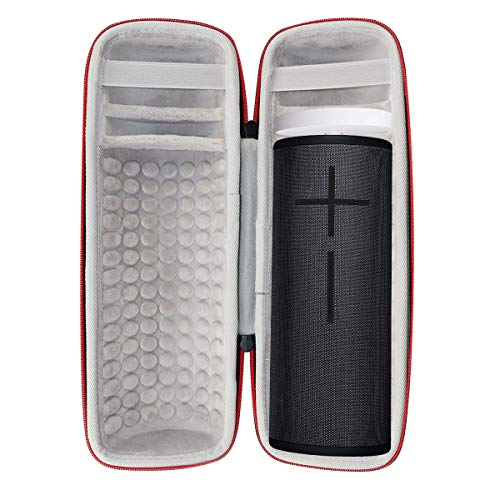 Asafez Hard Case for Ultimate Ears MEGABOOM 3 Portable Bluetooth Wireless Speaker and Power Up Charging Dock