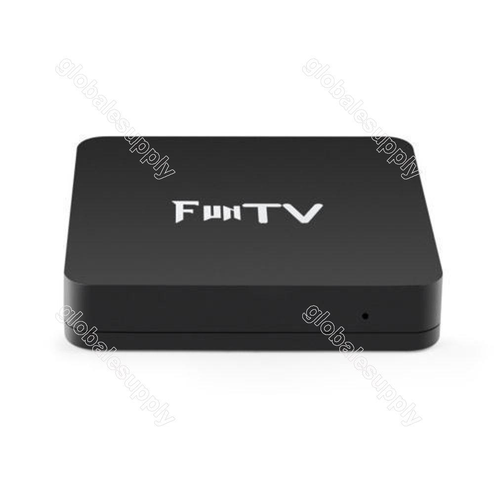 2018 Newest Bluetooth version of FUNTV Box IPTV Chinese/Hongkong/Taiwan Live IPTV Media Streamer Box 4K
