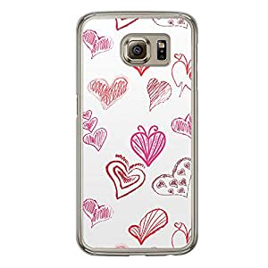 Loud Universe Samsung Galaxy S6 Love Valentine Printing Files A Valentine 7 Printed Transparent Edge Case - Multi Color