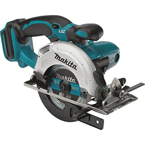 Makita XSS03Z 18V LXT Lithium-Ion Cordless 5-3 8-Inch Circular Trim Saw Tool Only, No Battery