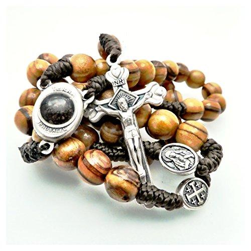 Olive Wood Rosary Bethlehem Christian product image