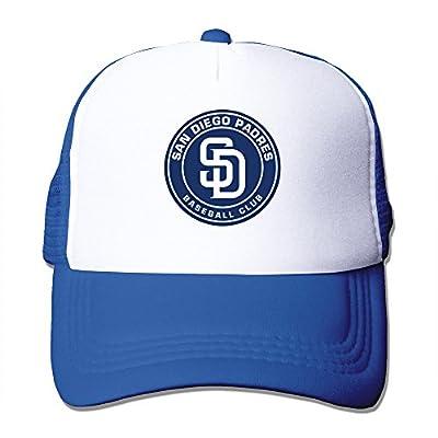 RoyalBlue HGLENice San Diego Padres Unisex Adjustable Baseball Hats One Size