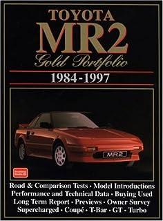 toyota mr2 1984-97 gold portfolio